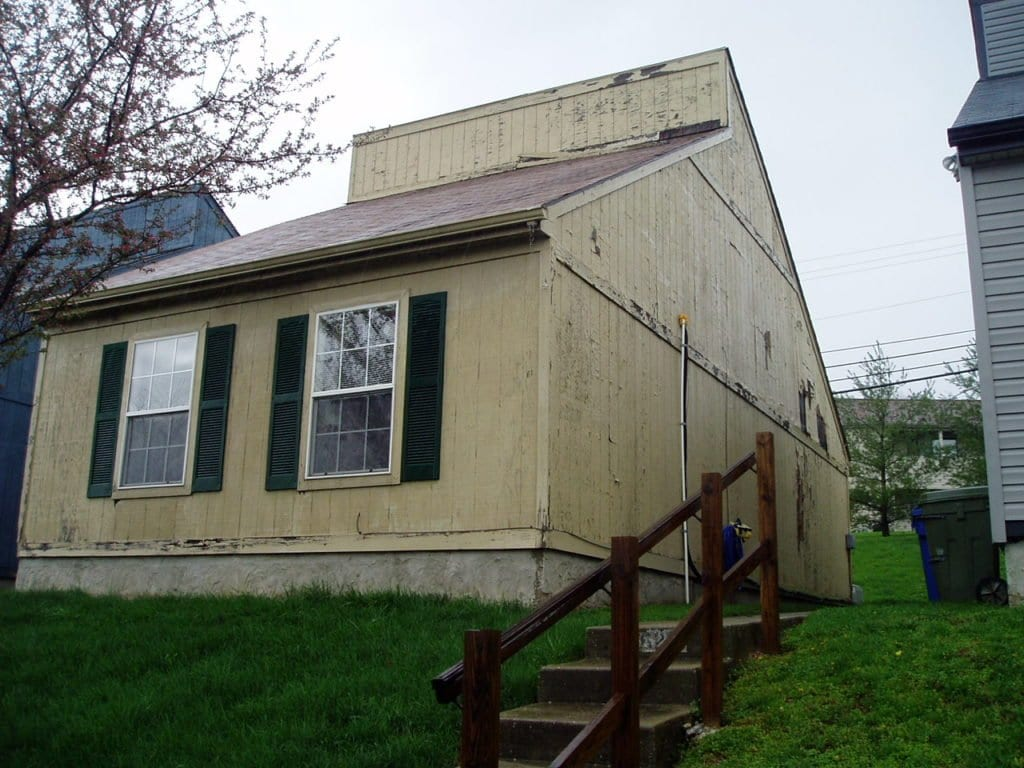 before vinyl siding replacement
