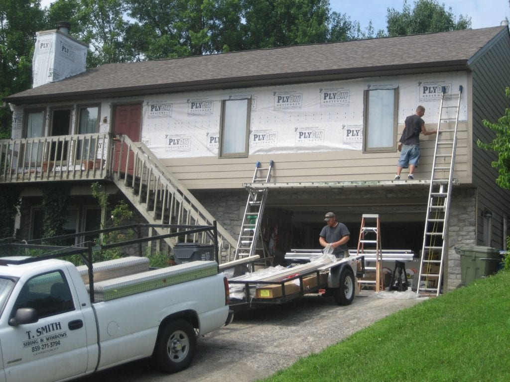 installing james hardie siding