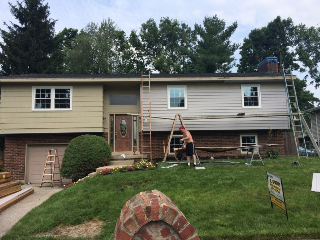 replacing vinyl siding