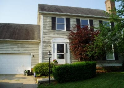 vinyl siding before replacement